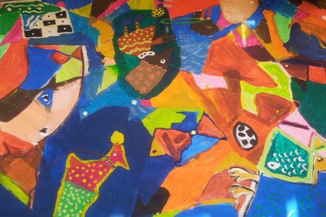 Eine Auseinandersetzung von 14 Schulen mit Picassos GUERNICA