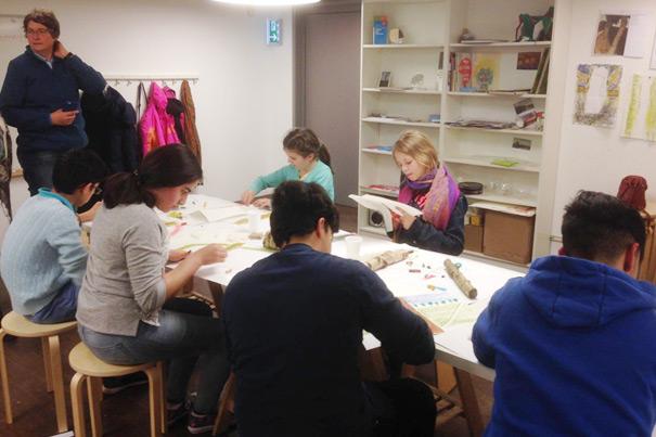 K21mondial: Ateliers im Bucerius Kunst Forum