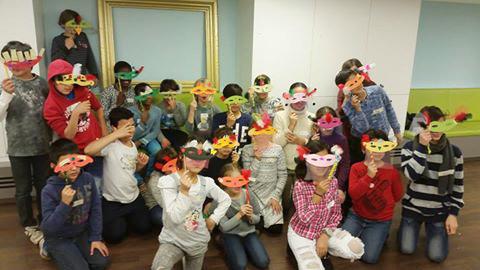 Ateliers im Bucerius Kunst-Forum: Kinder mit Masken