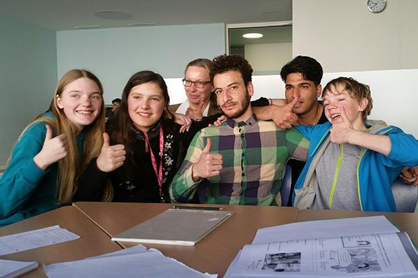 Hospitanzen und Deutschnachhilfe am Niels-Stensen-Gymnasium