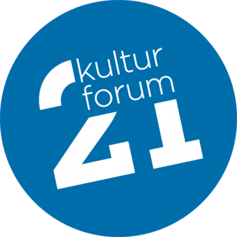 Kulturforum21 Logo blau