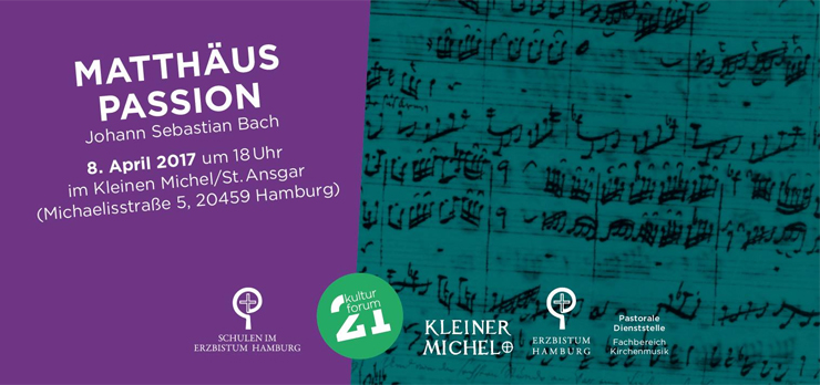 Matthäus Passion - 8. April 2017