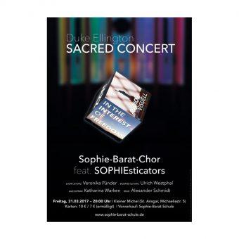 Duke Ellington Sacred Concert Poster