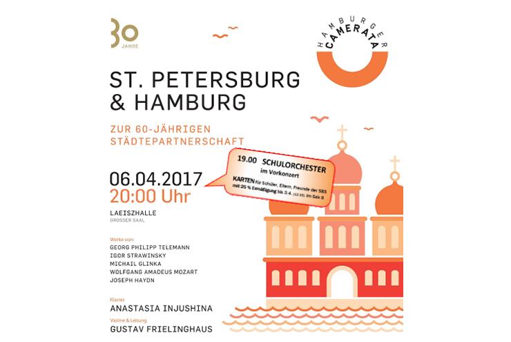 Hamburger Camerata und das Orchester der Sophie-Barat-Schule