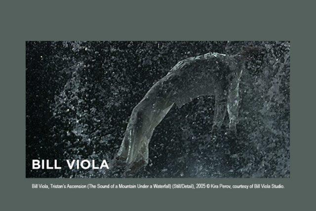 Bill Viola, Tristan's Ascension (The Sound of a Mountain Under a Waterfall) (Still/Detail), 2005 © Kira Perov, courtesy of Bill Viola Studio.