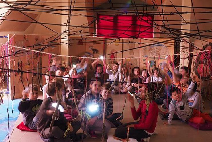 Bill Viola Laboratorien - Katholische Schule Harburg, Foto: Sabine Flunker