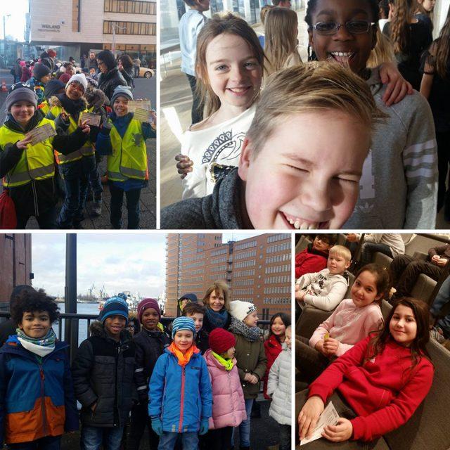 Schüler in der Elbphilharmonie