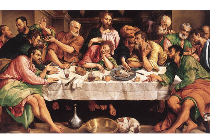 Jacopo Bassano, Das Abendmahl (um 1542)