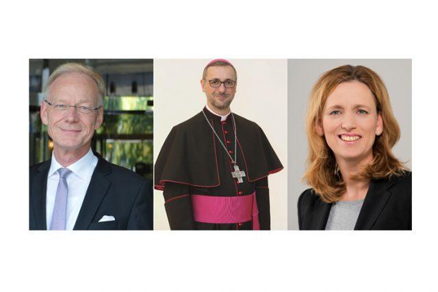 Im Gespräch mit...Karin Prien (Bildungsministerin Schleswig-Holstein), Prof. Dr. Michael Göring (ZEIT-Stiftung) und Erzbischof Dr. Stefan Heße.