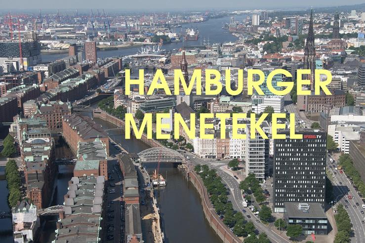 Pressekonferenz - Hamburger Menetekel