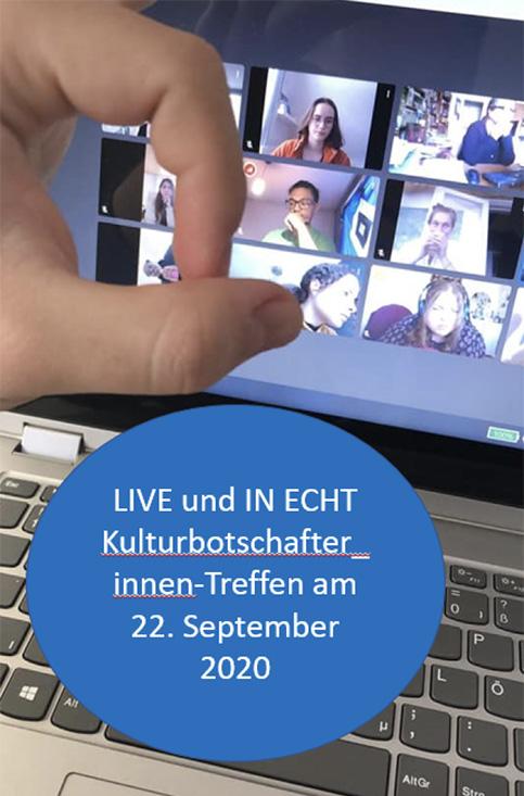 Erstes Kulturbotschafter_innen-Treffen am 22. September, 16:30 Uhr. Ort: Kleiner Michel/Unterkirche.