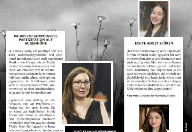 100. Geburtstag von Sophie Scholl am 9. Mai
